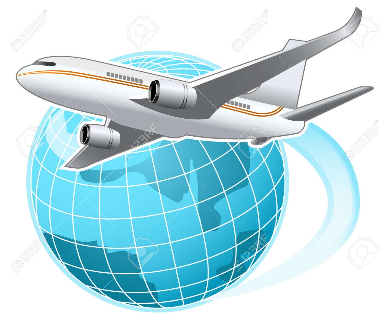 Around the world Stock Vector - 6928129