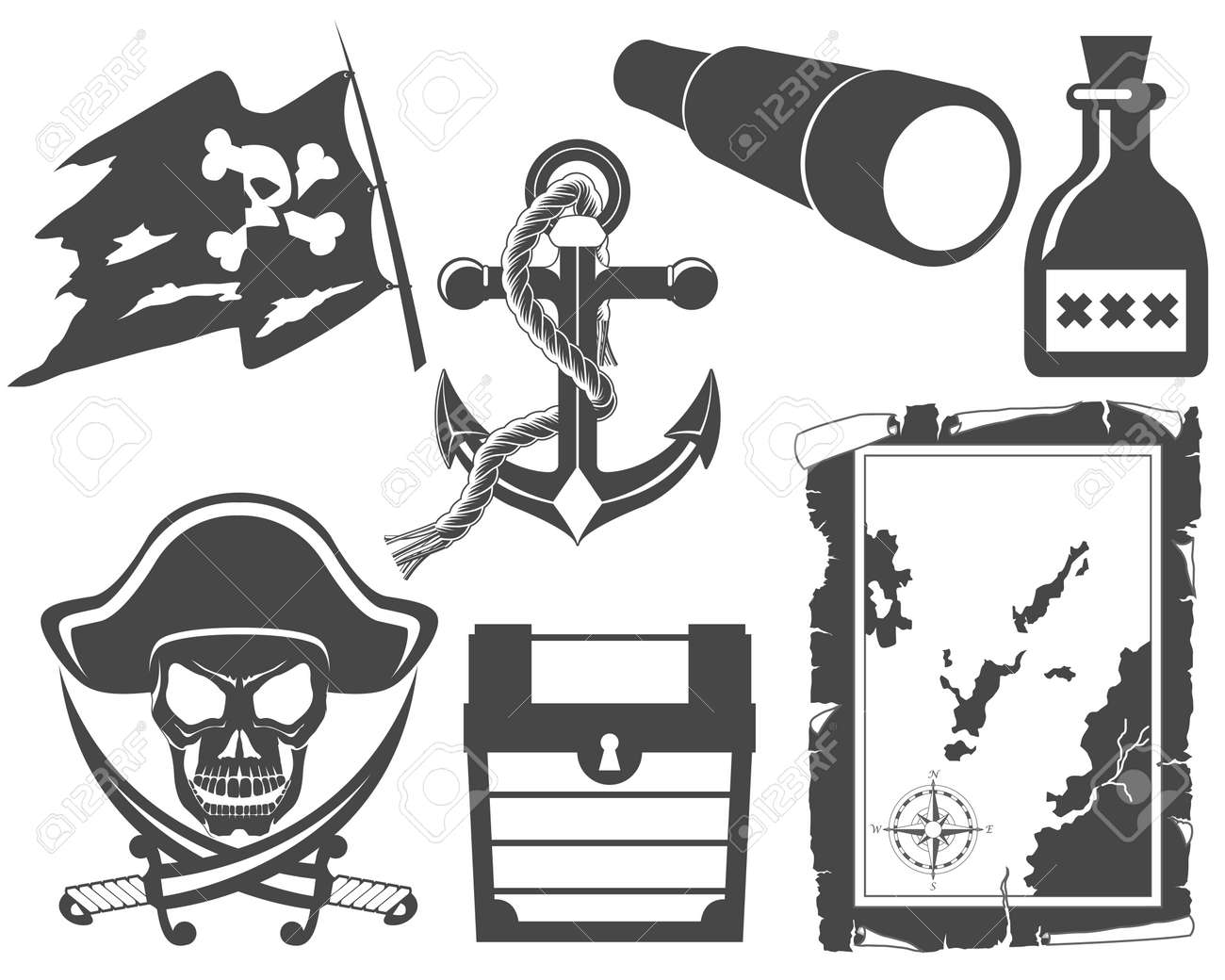 6 195 treasure chest stock vector illustration and royalty free