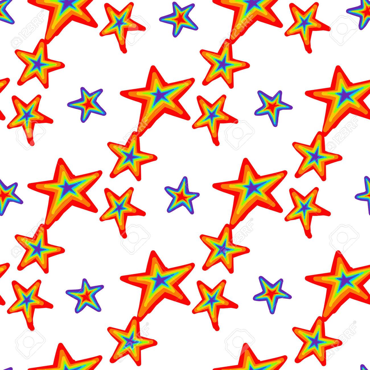 rainbow pattern. Bright summer pattern seamless. Summer trending design. Summer 2021.gay pride colors. lgbt. - 169770398