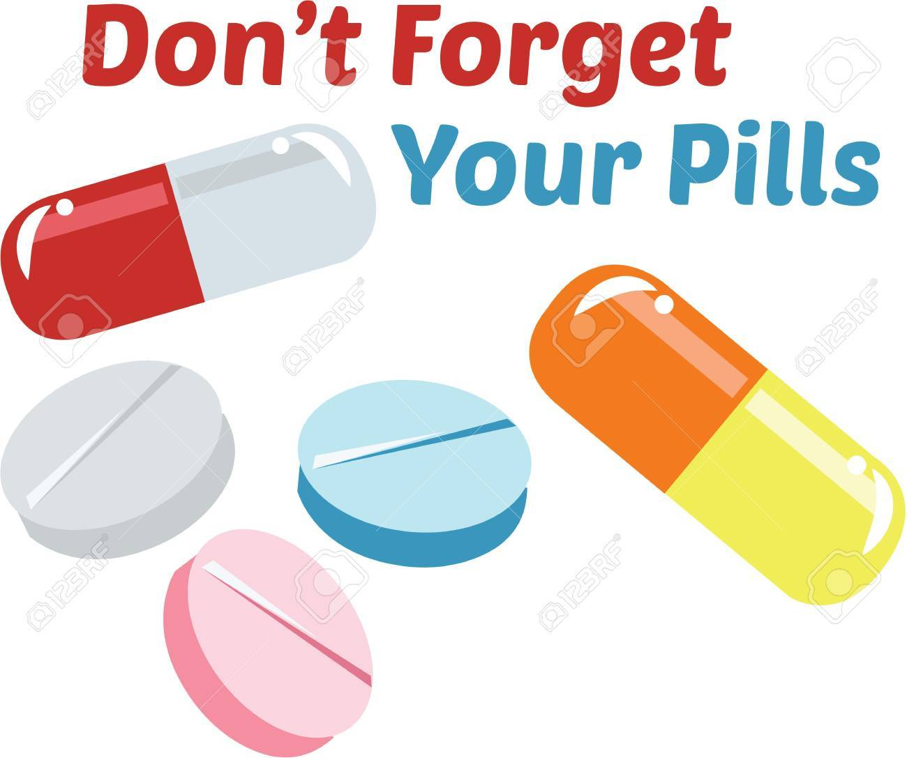 Remember to take your pills with this design