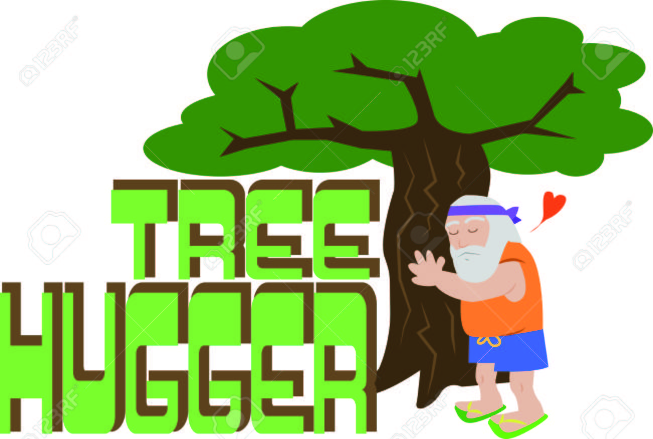 Show Off Your Love Of Nature With This Tree Hugger Design This