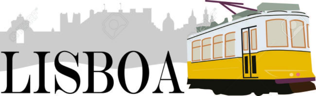 Fahren Sie In Diesem Stil Mit Ordentlich Lissabon Straßenbahn-Design ...