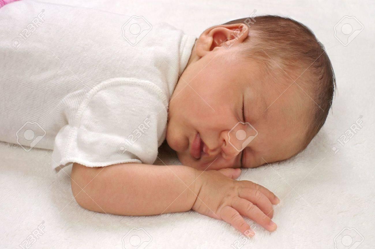 Newborn Hispanic Baby Girls newborn three-week-old baby