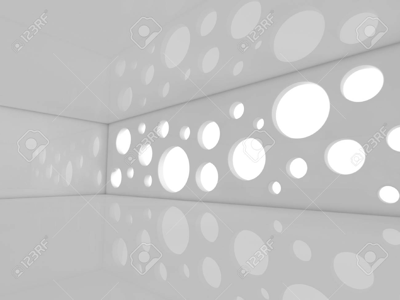 Strange Empty Showroom 3D Rendering Download Free Architecture Designs Scobabritishbridgeorg