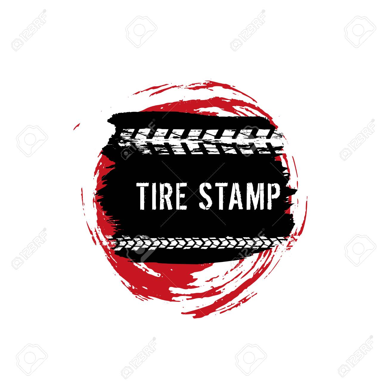 Grunge Off Road Post And Quality Stamp Automotive Element Useful Royalty Free Cliparts Vectors And Stock Illustration Image 91375272