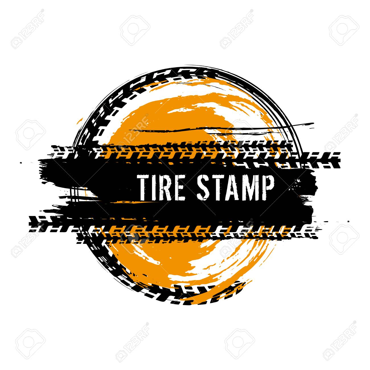 Grunge Off Road Post And Quality Stamp Automotive Element Useful Royalty Free Cliparts Vectors And Stock Illustration Image 92662400