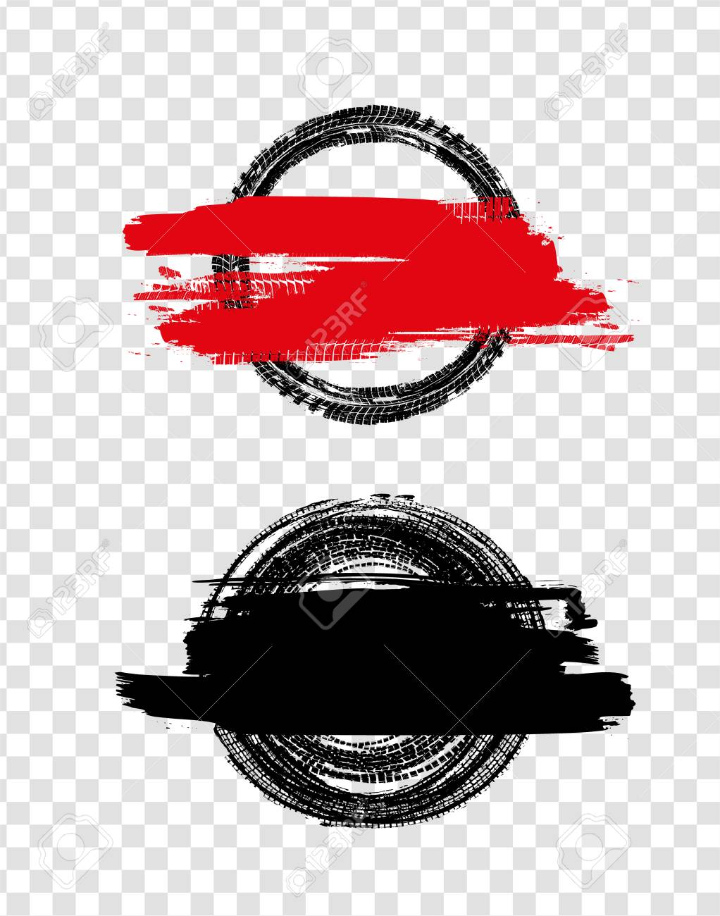 Grunge Off Road Post And Quality Stamps Automotive Element Useful Royalty Free Cliparts Vectors And Stock Illustration Image 103045192