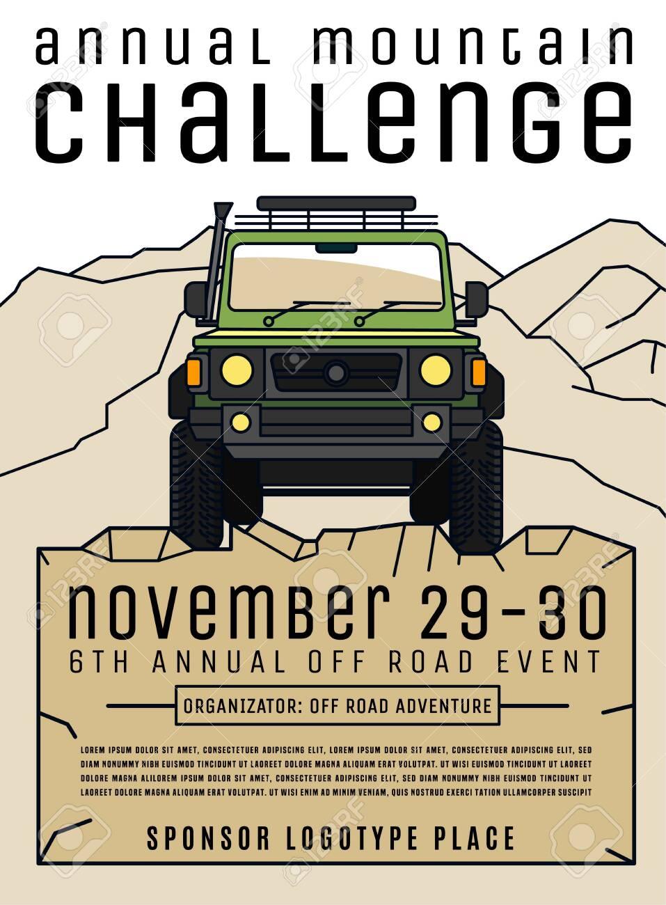 Motorsport event poster - 130466671
