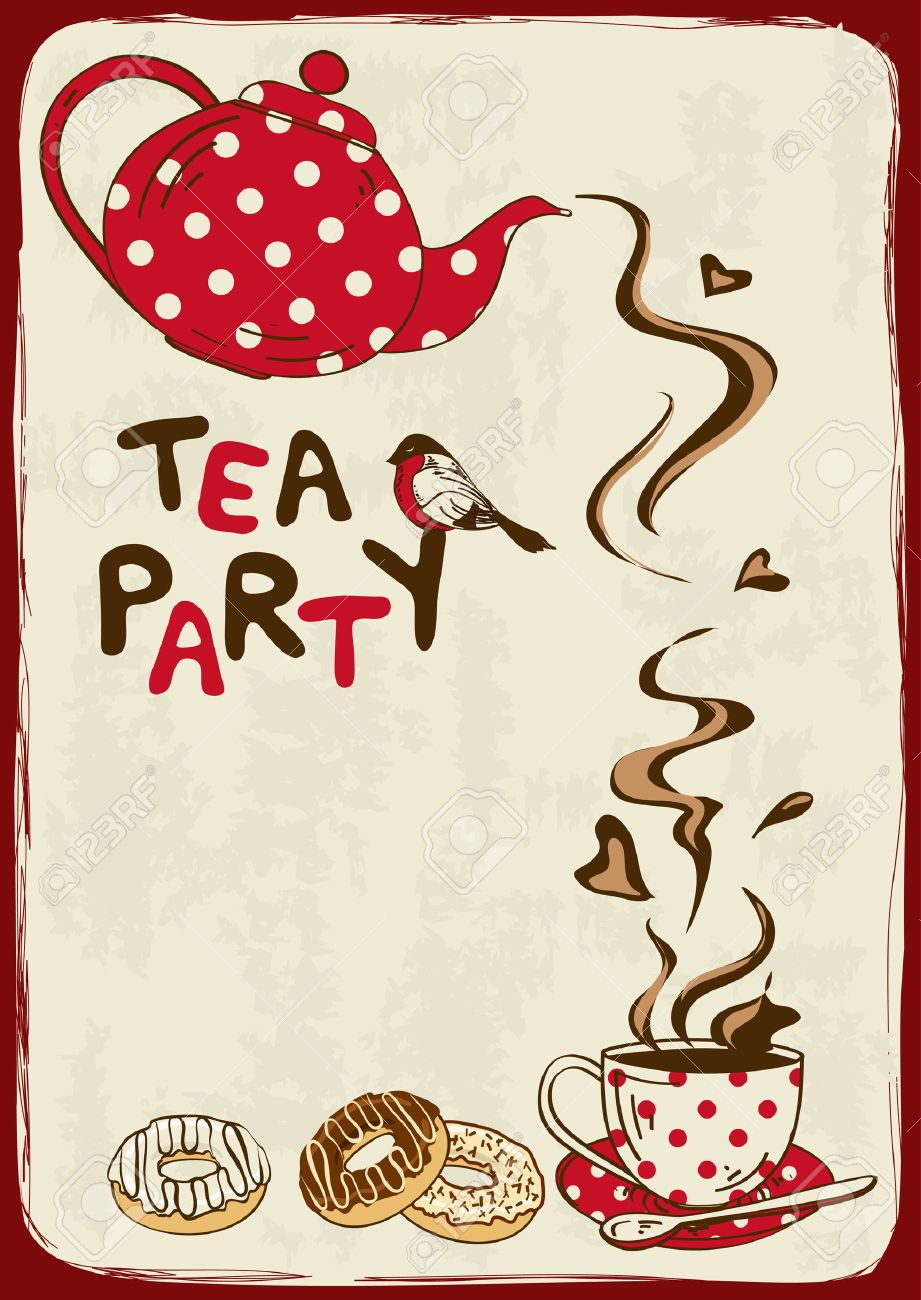 8771 Tea Time Stock Illustrations Cliparts And Royalty Free Tea