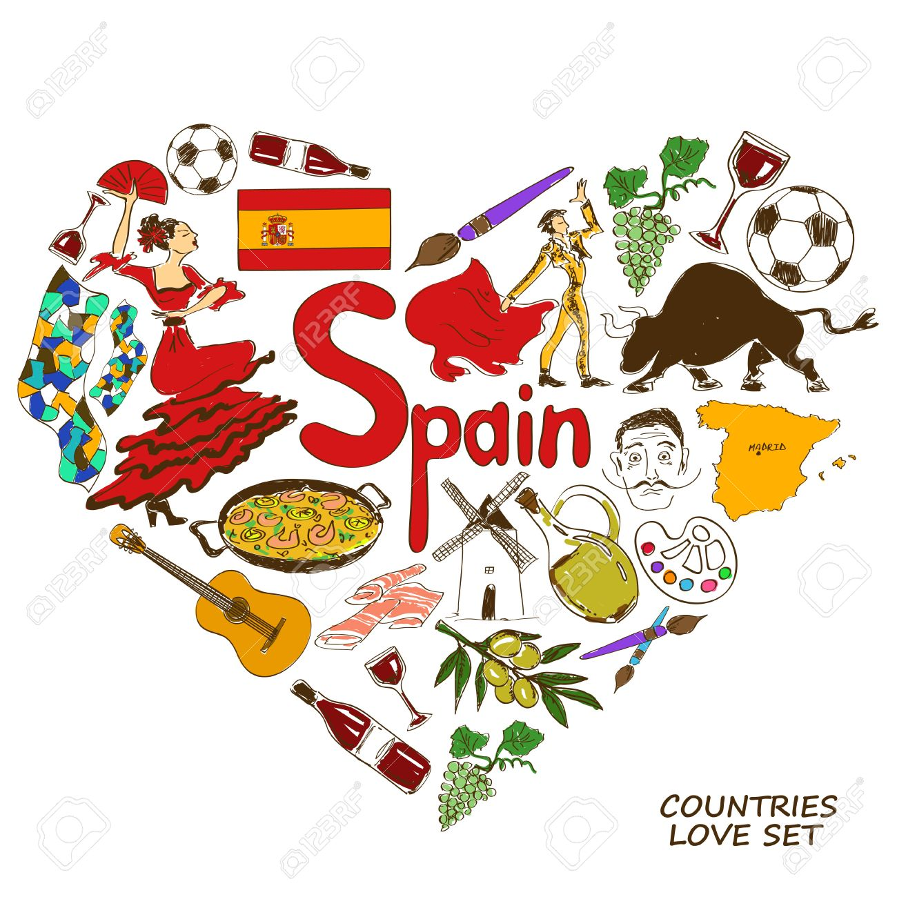 44548 Spain Cliparts Stock Vector And Royalty Free Spain Illustrations