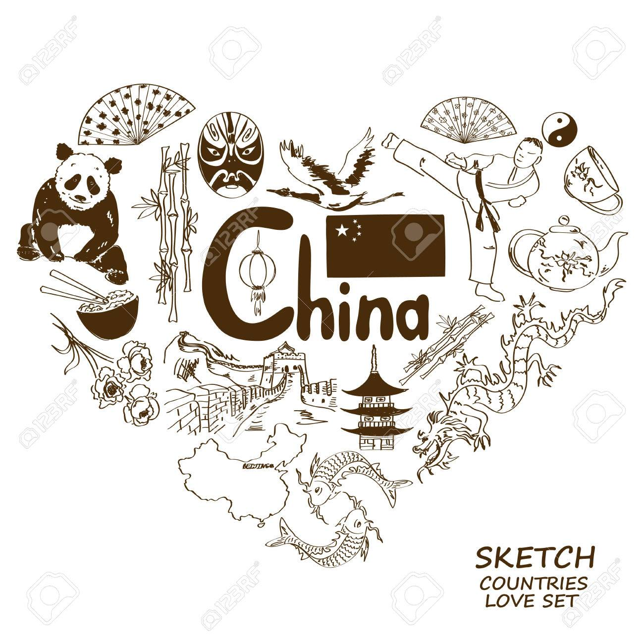 Symbols in heart of darkness choice image symbol and sign ideas kung fu panda images stock pictures royalty free kung fu panda sketch collection of chinese symbols biocorpaavc