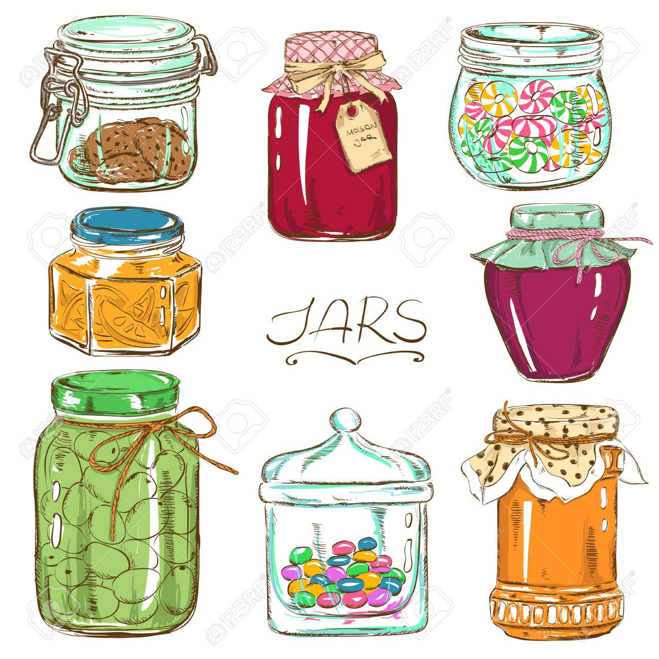 Image result for bottles and jars clipart