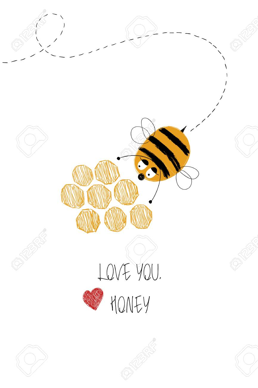 anniversary kawaii punny boyfriend funny card for him her girlfriend adorable We Bee-long Together Greeting Card cute bee lover card