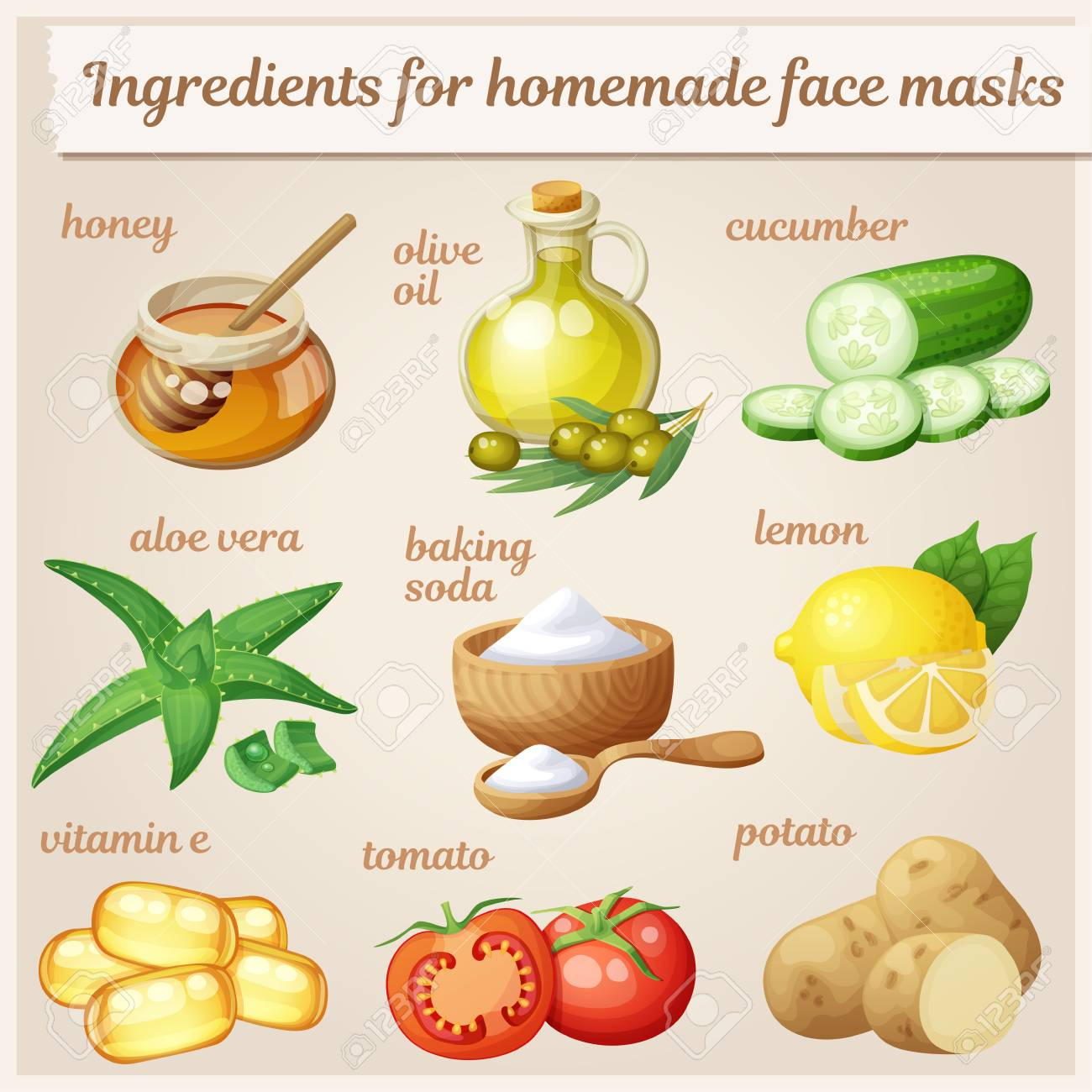 face mask at home