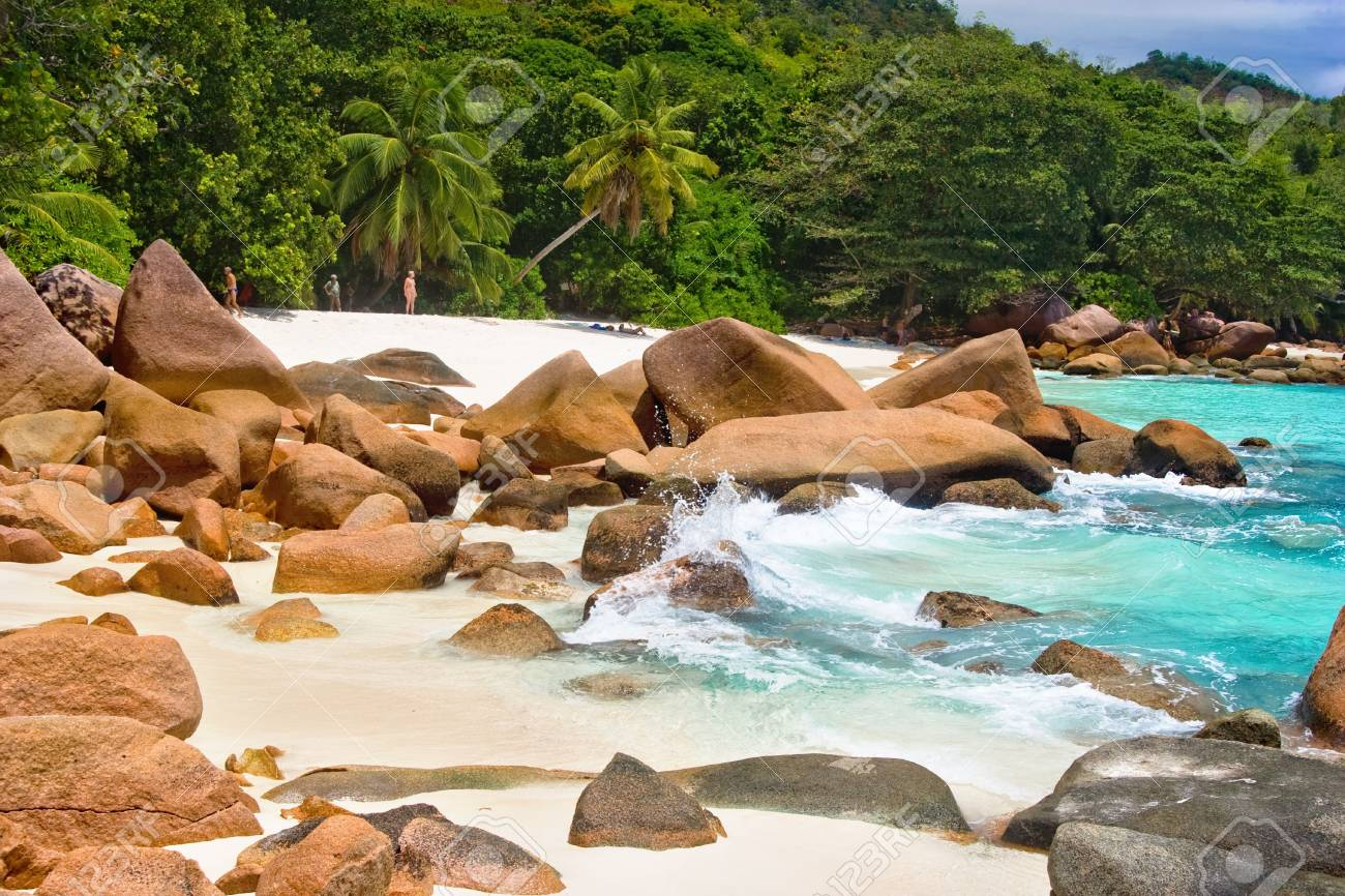 Anse Lanzio,Seychelles Stock Photo - 2490859