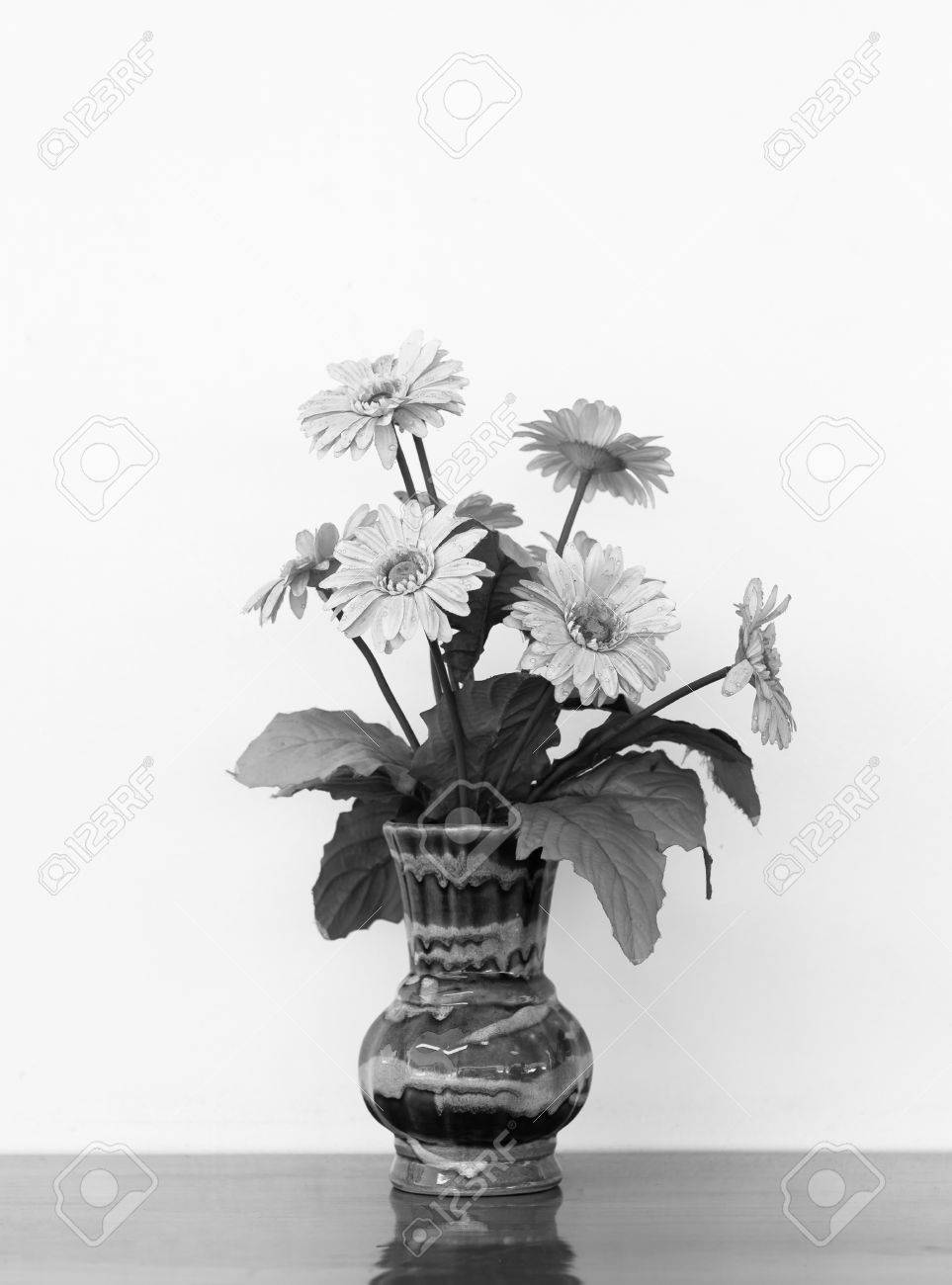 Flower Vases Black And White Stock Photo Picture And Royalty Free