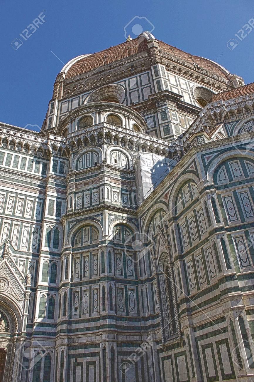 フィレンツェの大聖堂のドームの...