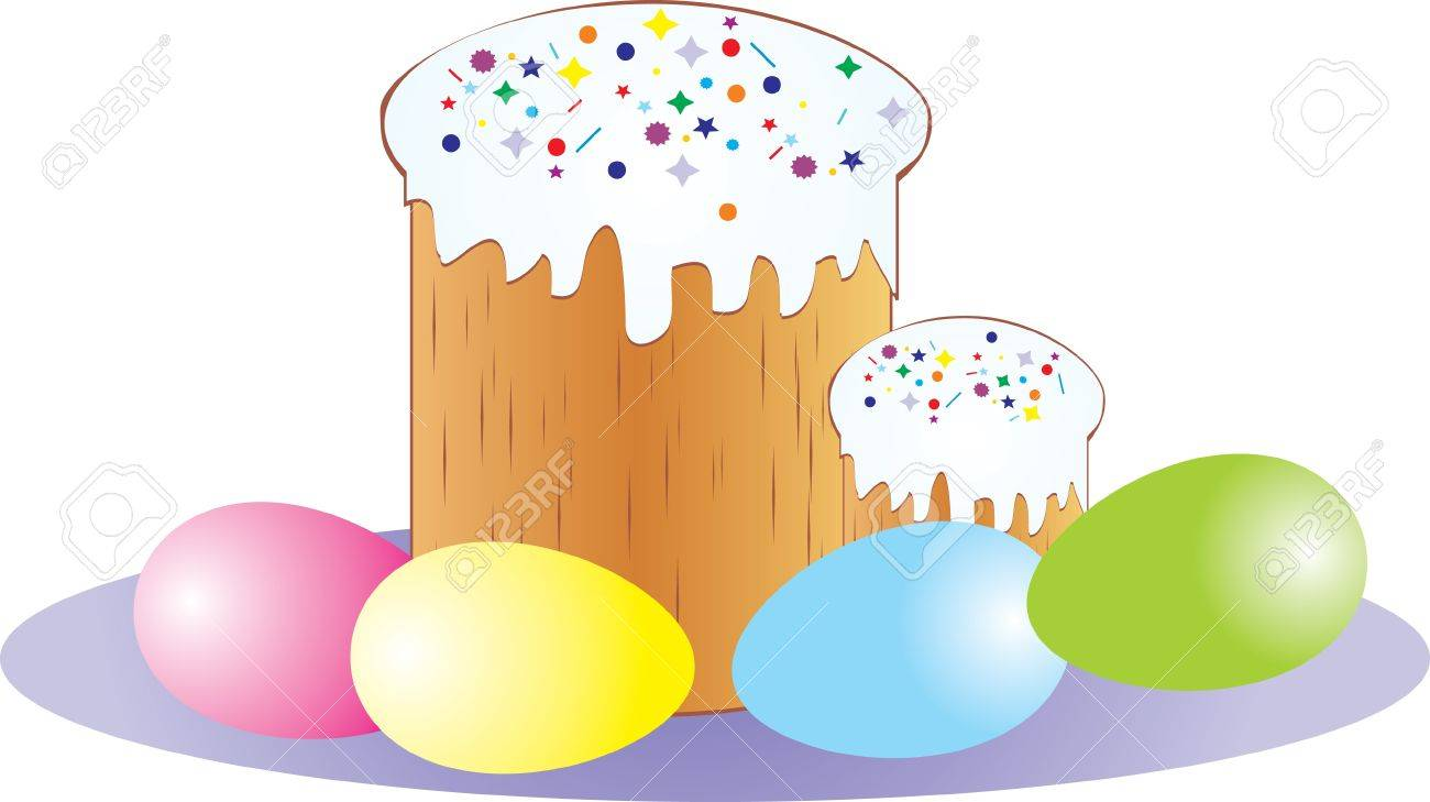 Easter cake Stock Vector - 9933521