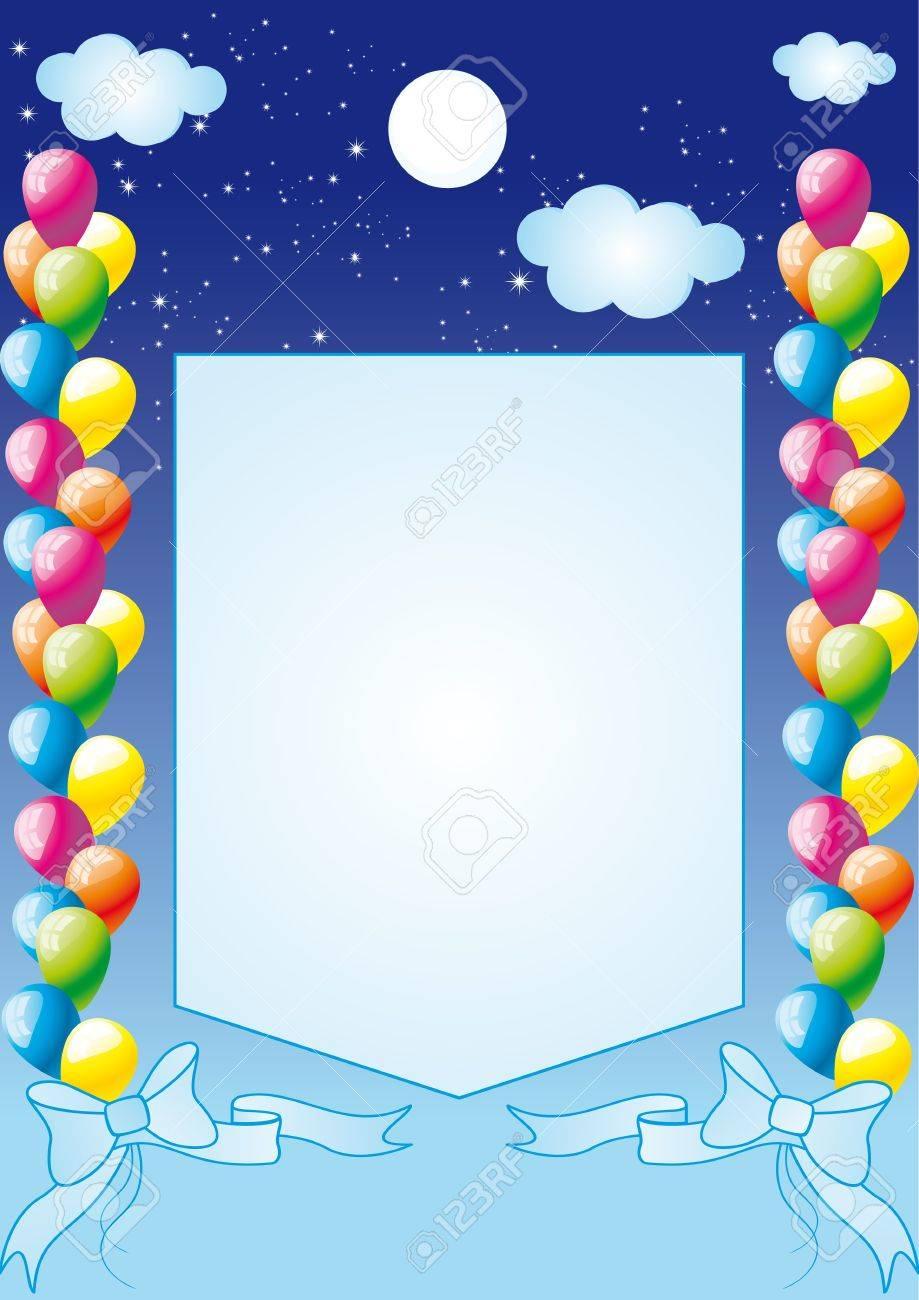 congratulation, a birthday Stock Vector - 12483218