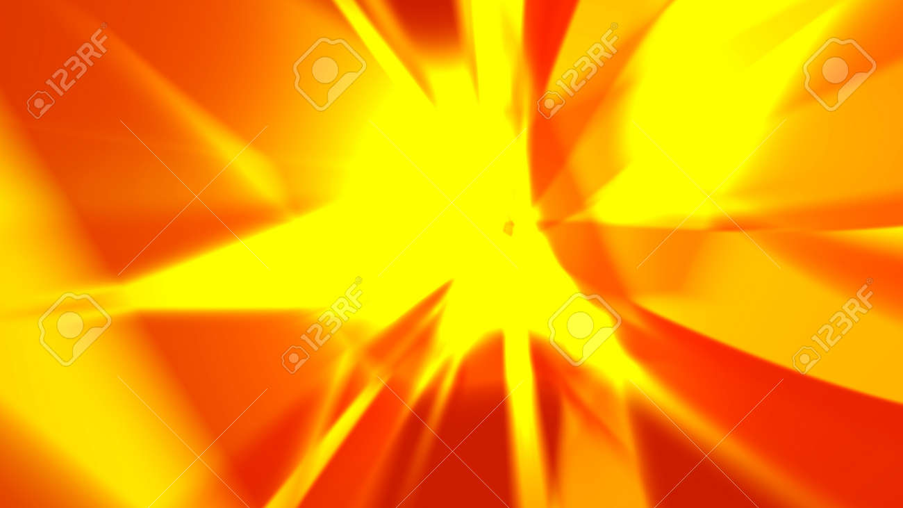 Abstract background, blurred figures located randomly form random images. The structures resemble a crystal, explosion, motion blur, etc. 4K resolution. - 162759786