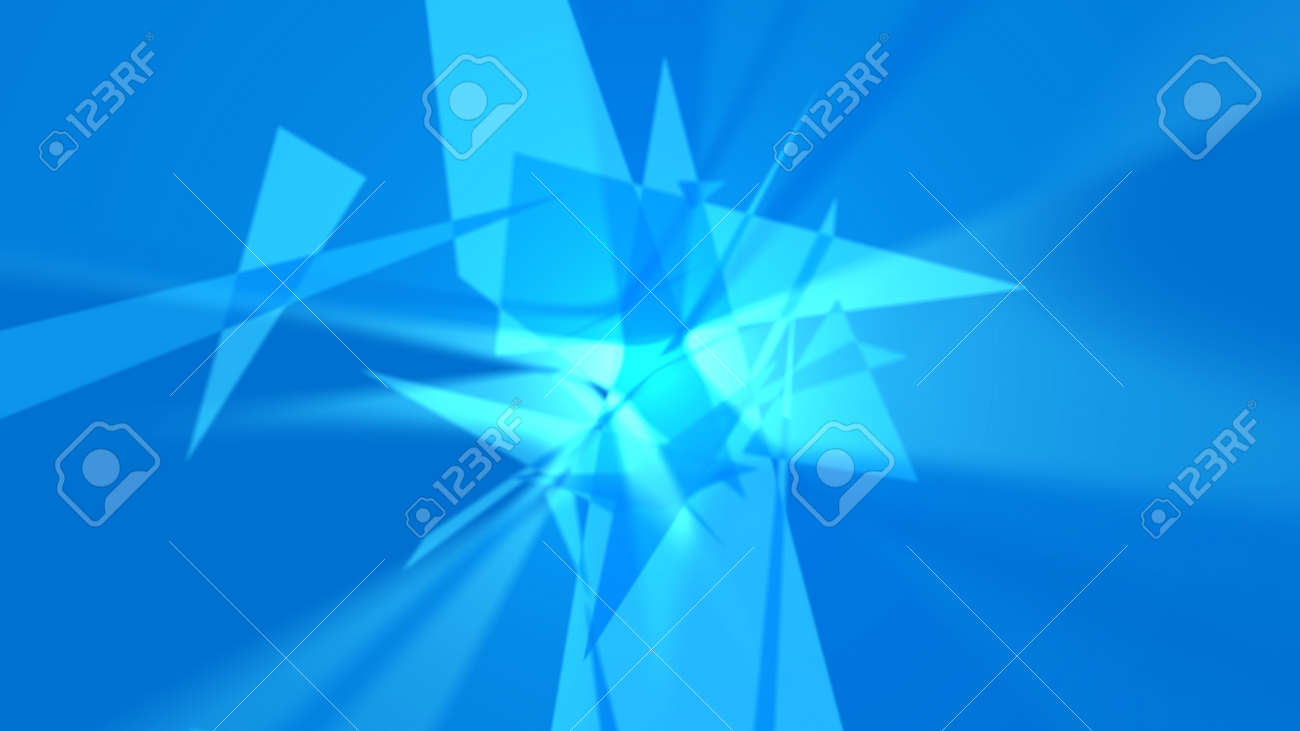 Abstract background. The planes chaotically located in space form a complex pattern. It looks like an explosion, crystal, etc. 4K resolution. - 162759794