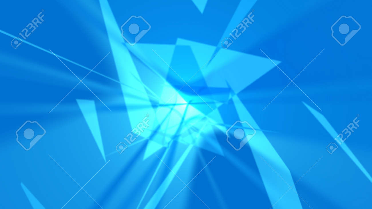 Abstract background. The planes chaotically located in space form a complex pattern. It looks like an explosion, crystal, etc. 4K resolution. - 162759796