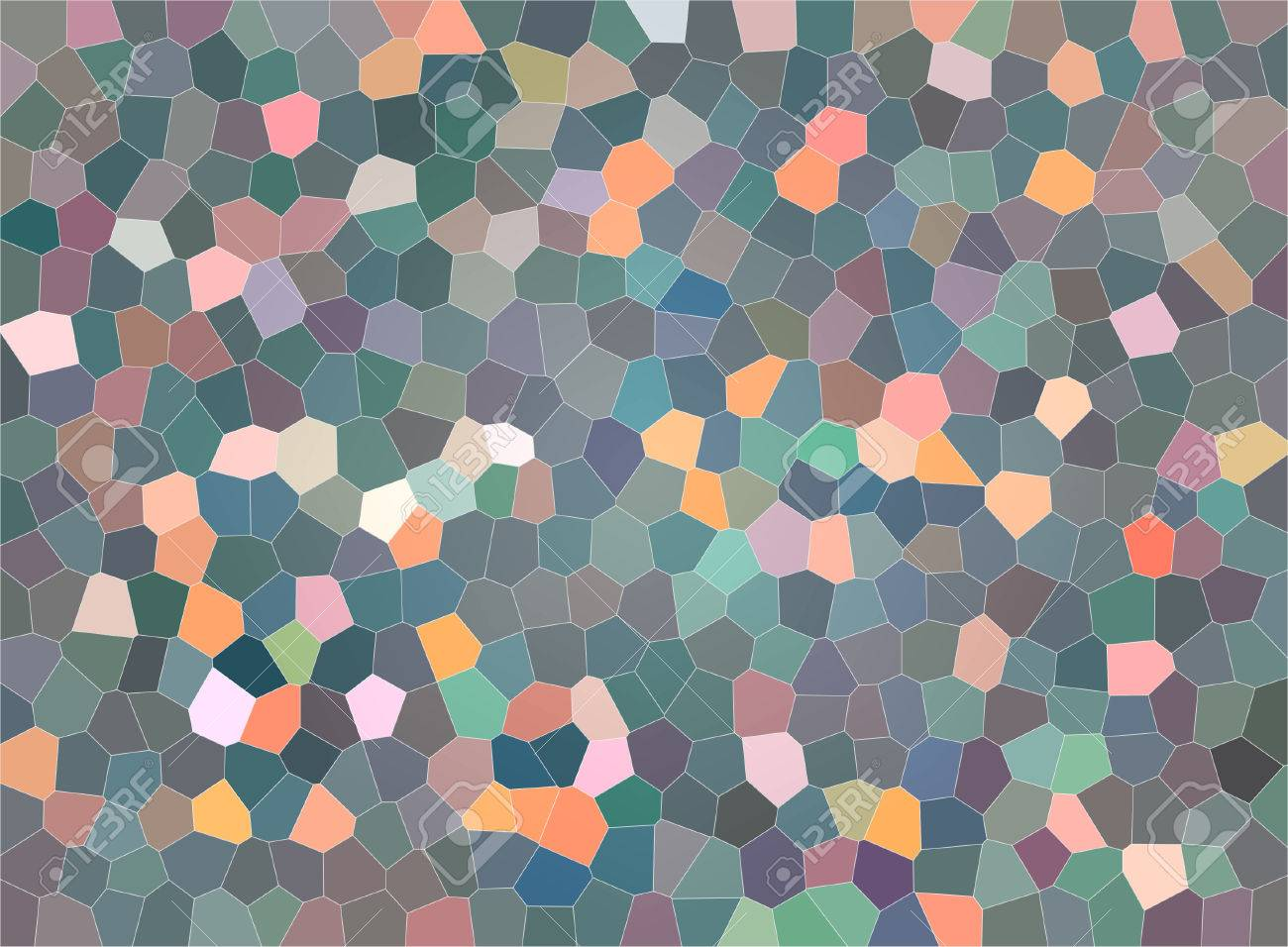 Beautiful vintage old abstract background with colorful mosaic