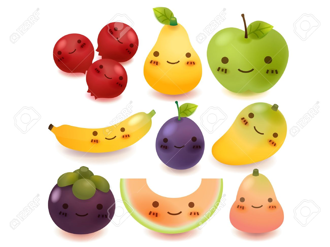 Fresh juice and fruits in hd photos cute babies photos collection - Fruit Cartoon Fruit And Vegetable Collection