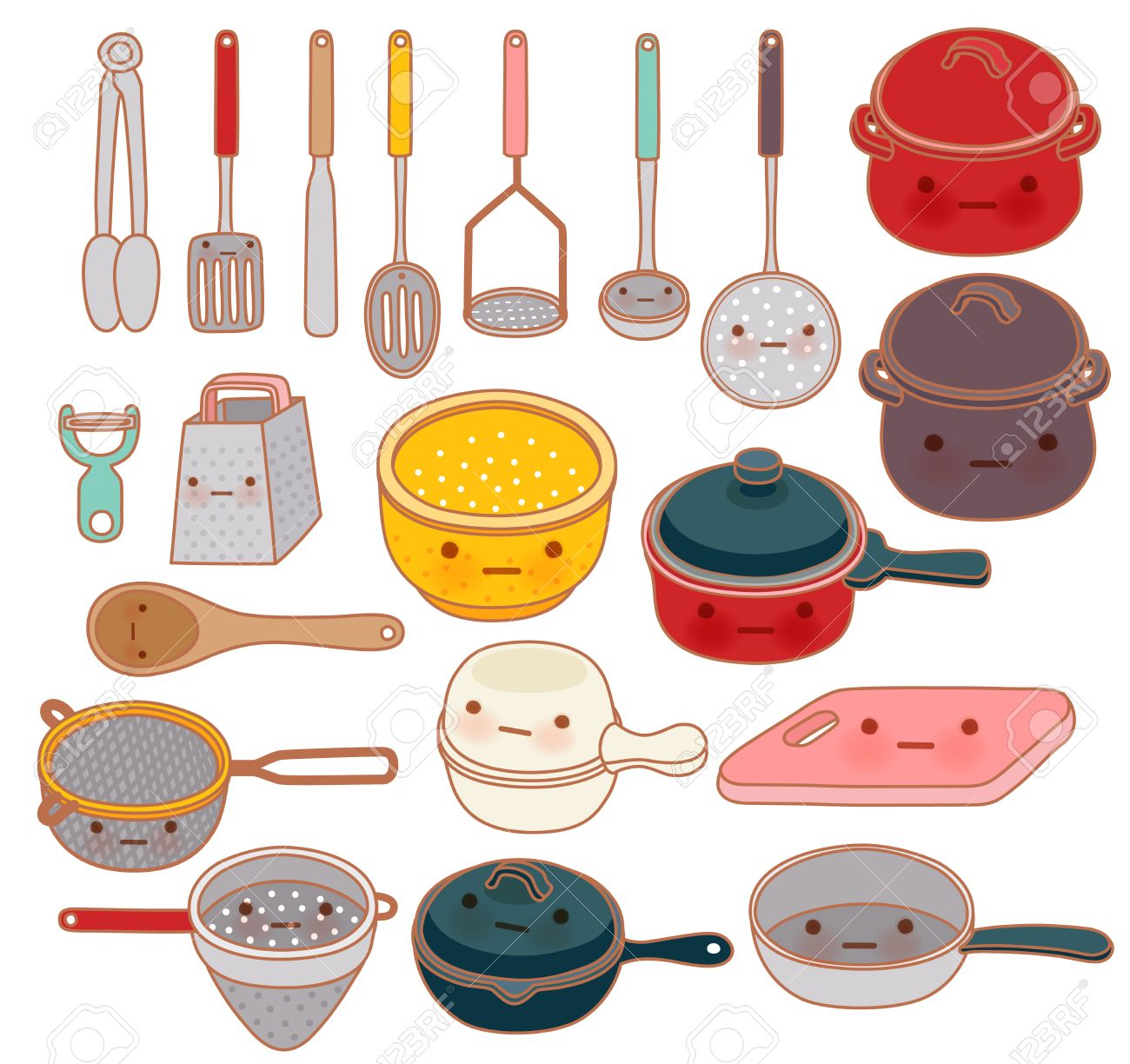 Collection Of Lovely Kitchenware Cute Grater Adorable Pan