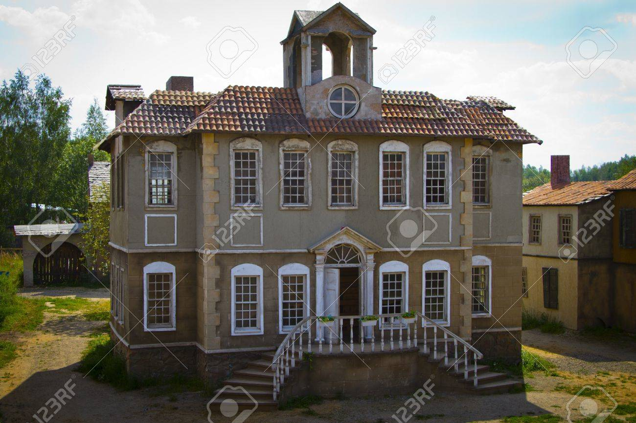 Old House Decorating For The Movie Stock Photo 14816566