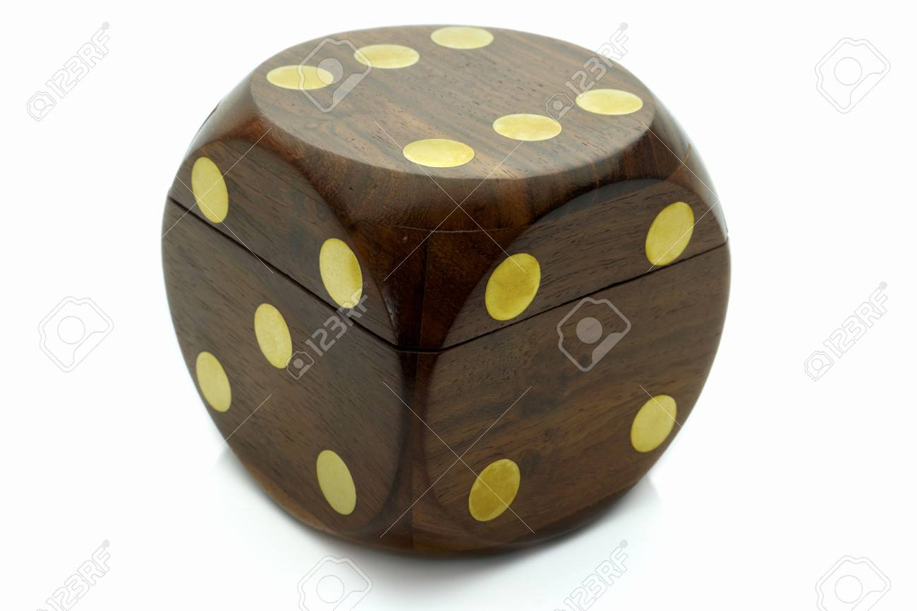 cubes for game of casino and gift Stock Photo - 6975004
