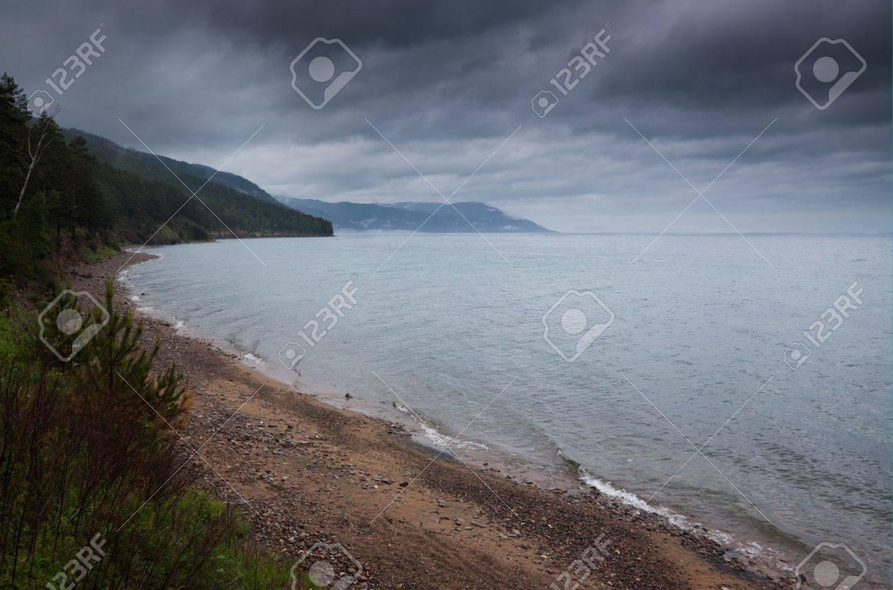 lake Baikal dramatic view Stock Photo - 5603323