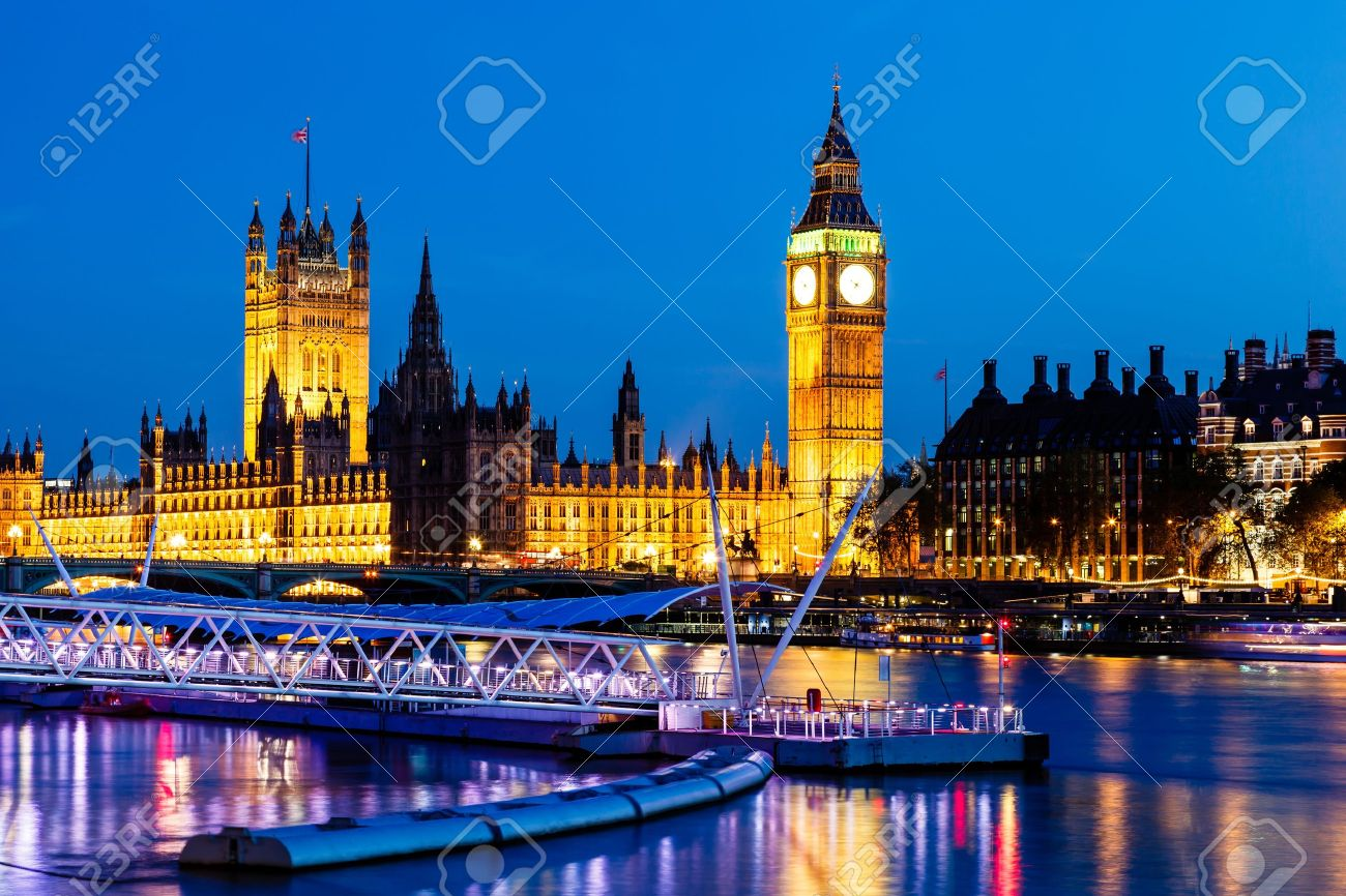big ben and house of parliament at night london united kingdom