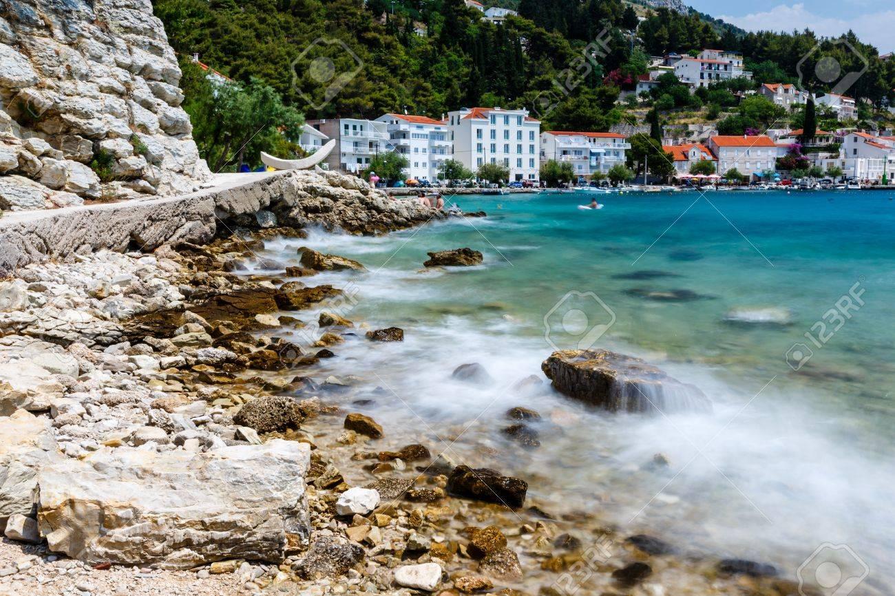 Beautiful Sea Beach Beach And Adriatic Sea