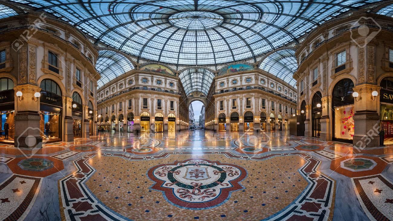 Resultado de imagem para Vittorio Emanuele Gallery  5 Monuments Milanais à Visiter Pendant iSaloni 39212259 milan italy january 13 2015 galleria vittorio emanuele ii in milan it