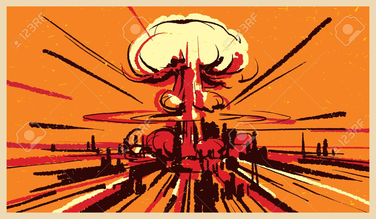 Strange phone boot [Mister Miracle] 112400796-nuclear-bomb-explosion-illustration-vector