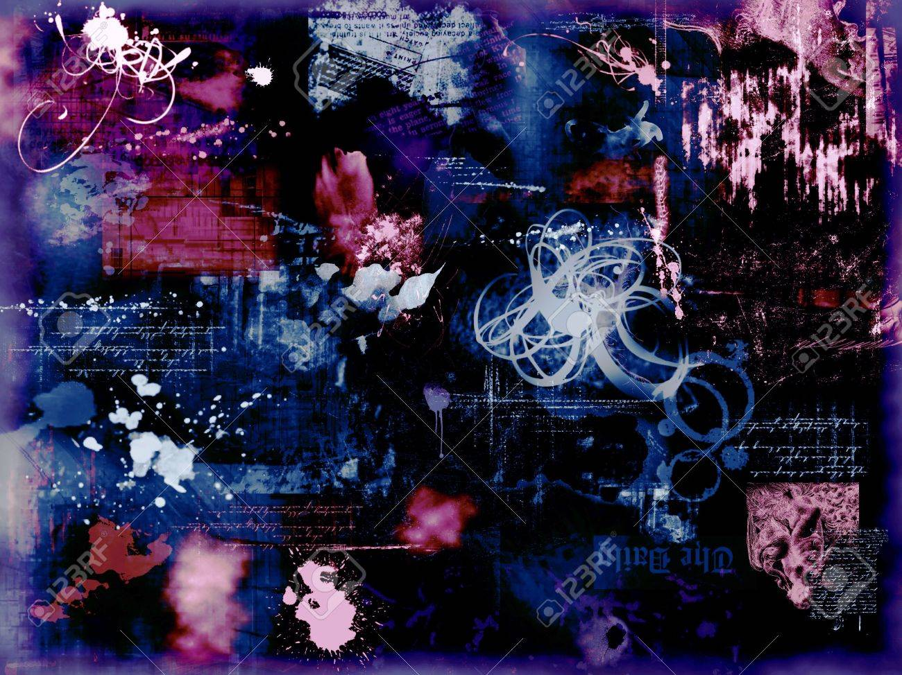 abstract background art wallpaper graphic college Stock Photo - 710816