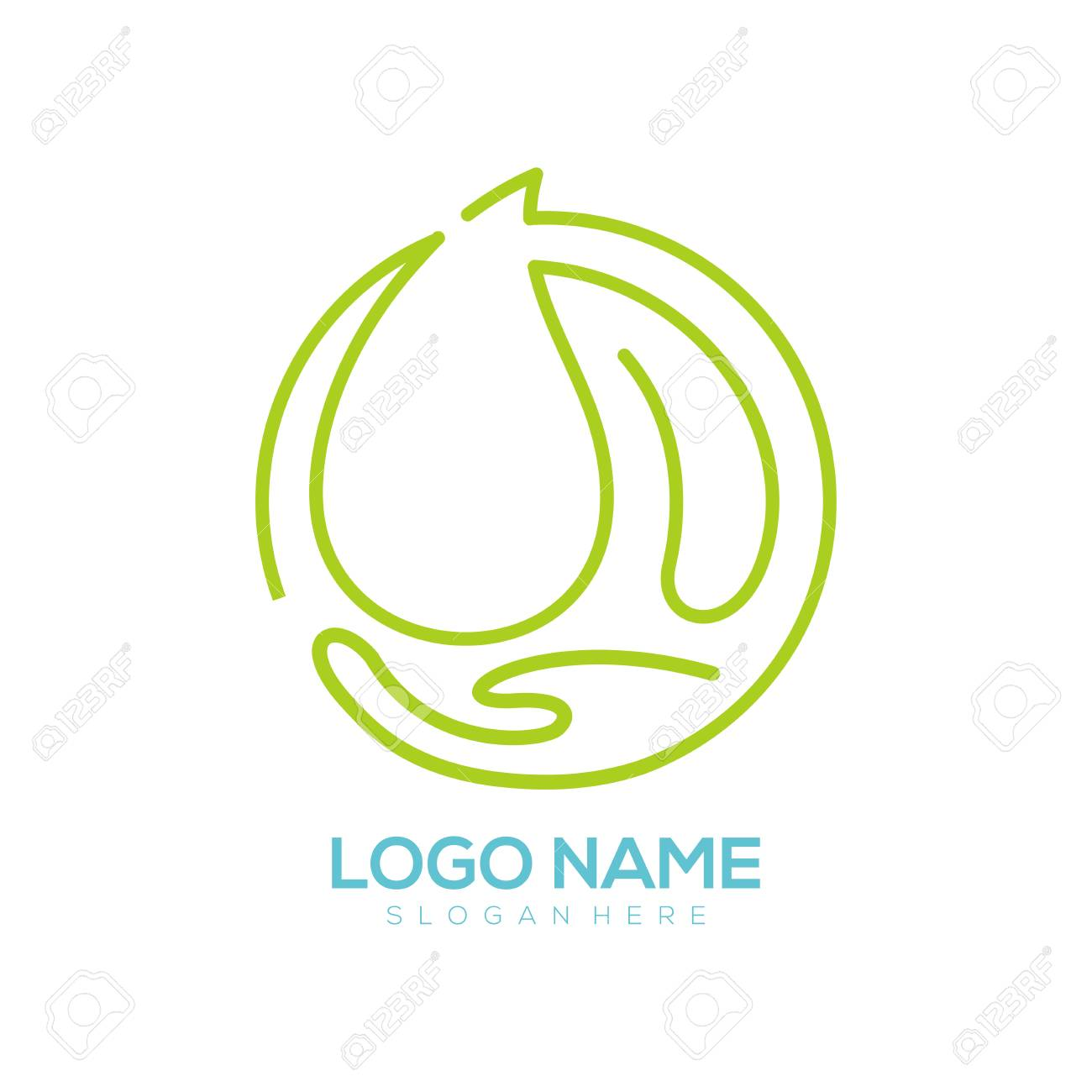 Environment logo and icon design suitable for your business, company and personal branding - 118633052