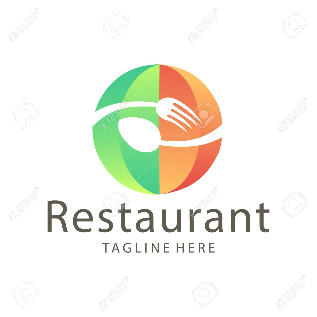 Elegant restaurant food and drink logo design suitable for your
