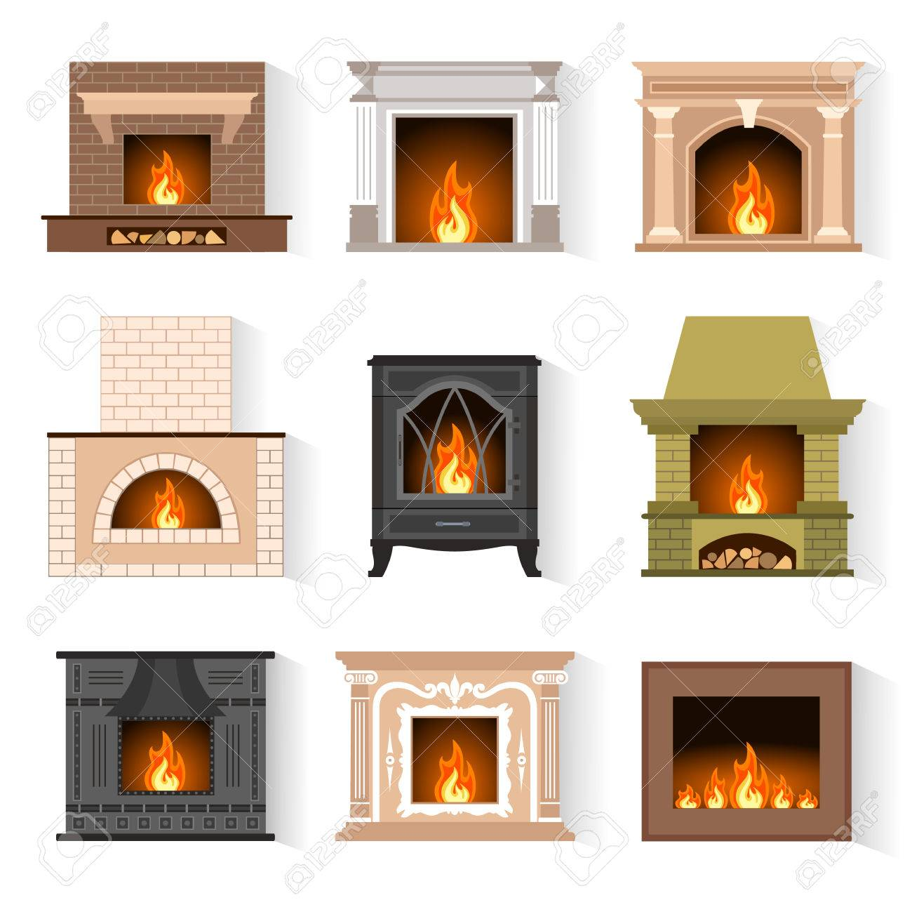 white to brick nest a paint steps vintage fireplace fireplaces simple little in how