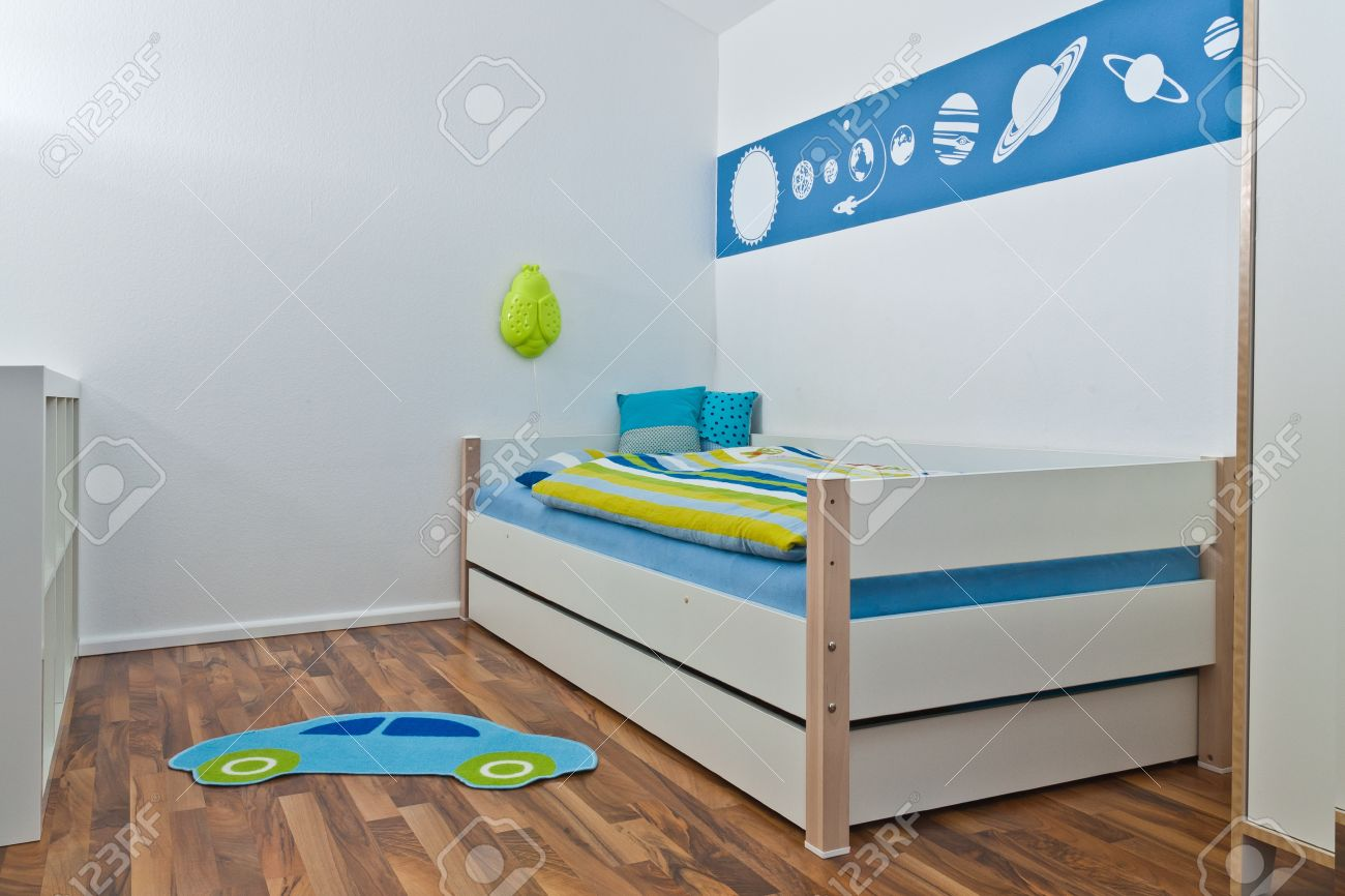Childrens Bedroom Playroom Stock Photo - 9151977