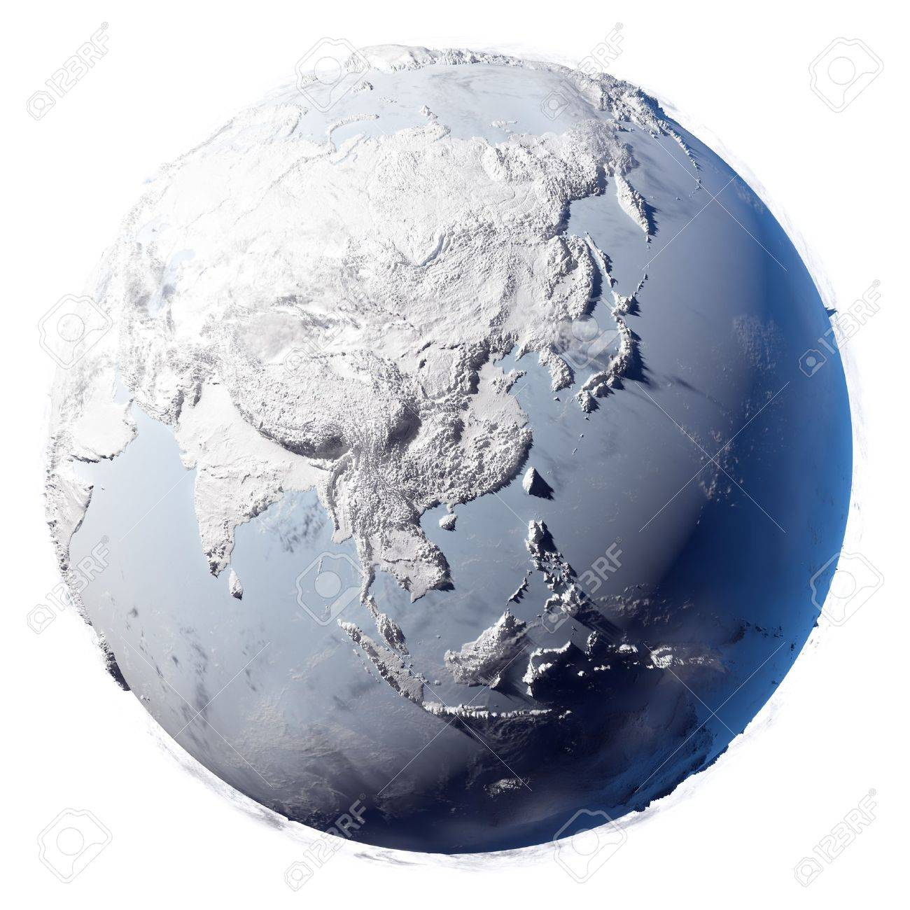 Image result for world covered white