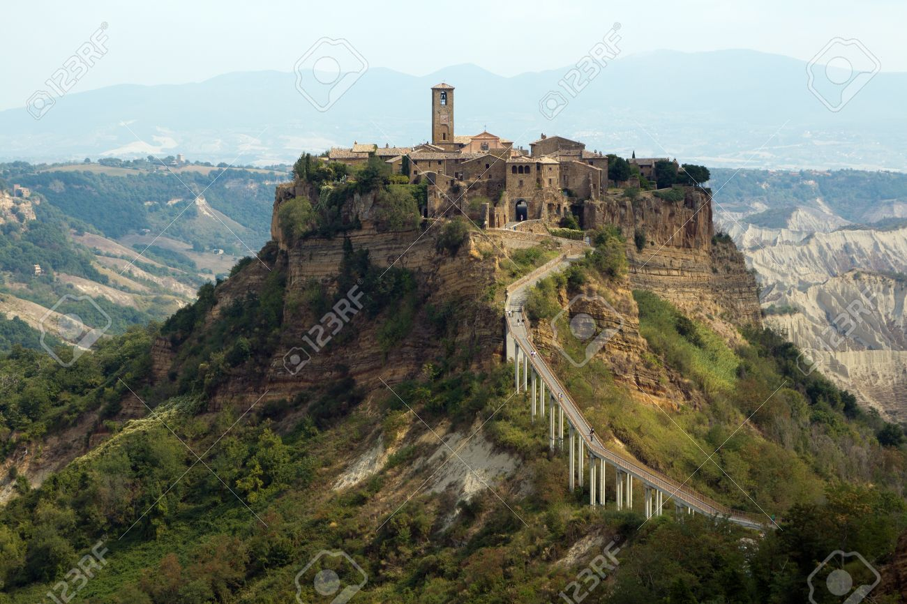 Civita Di Bagnoregio Is A Town In The Province Of Viterbo In ...