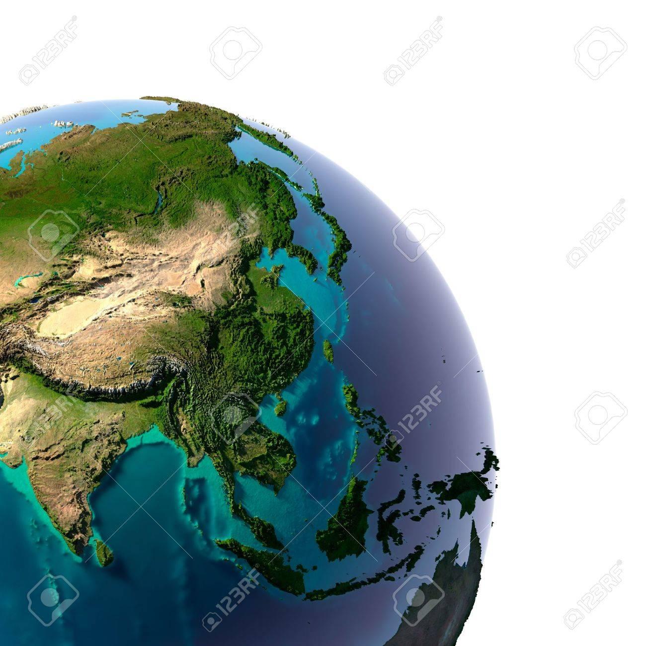 オセアニア アジア