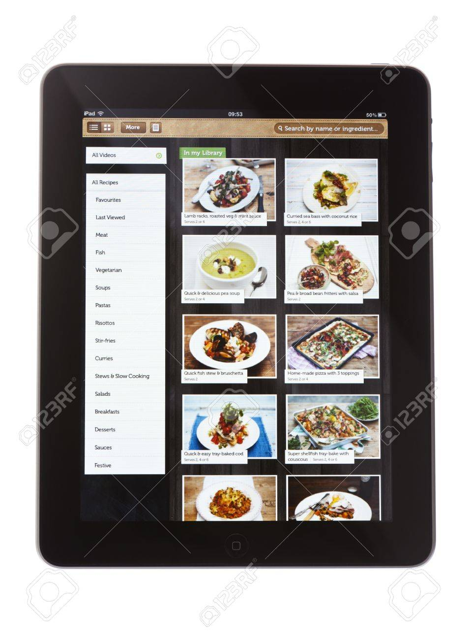 Bath United Kingdom November 9 2011 An Apple Ipad Against Stock Photo Picture And Royalty Free Image Image 19415914