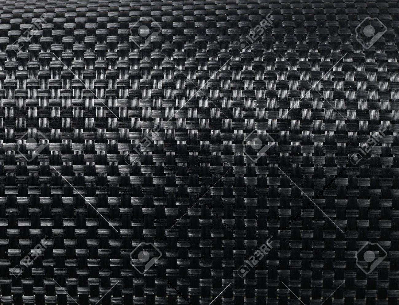 Black woven carbon fibre texture pattern background Stock Photo - 15215263