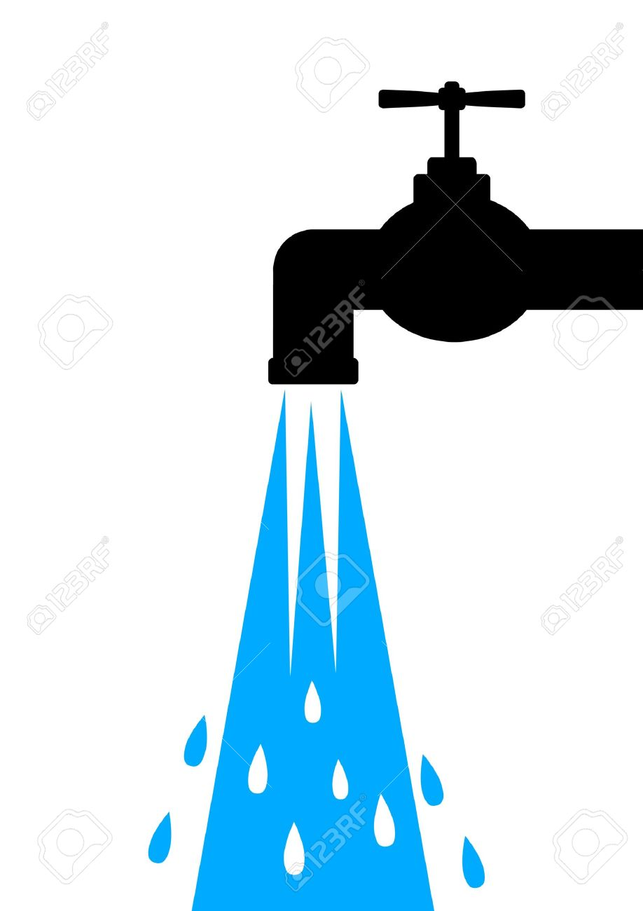 Icon of tap Stock Vector - 12063087
