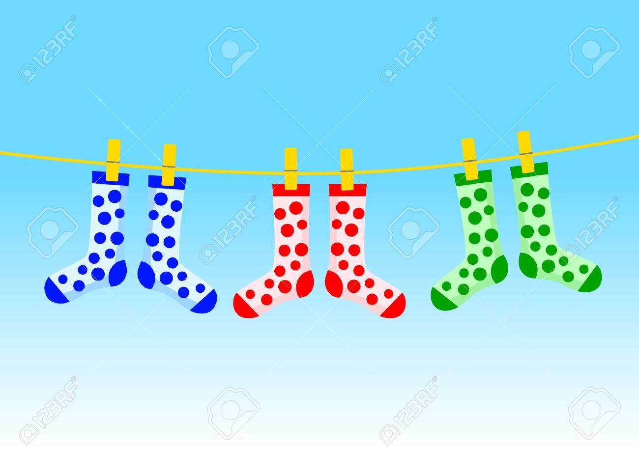 Colorful socks - 12063165