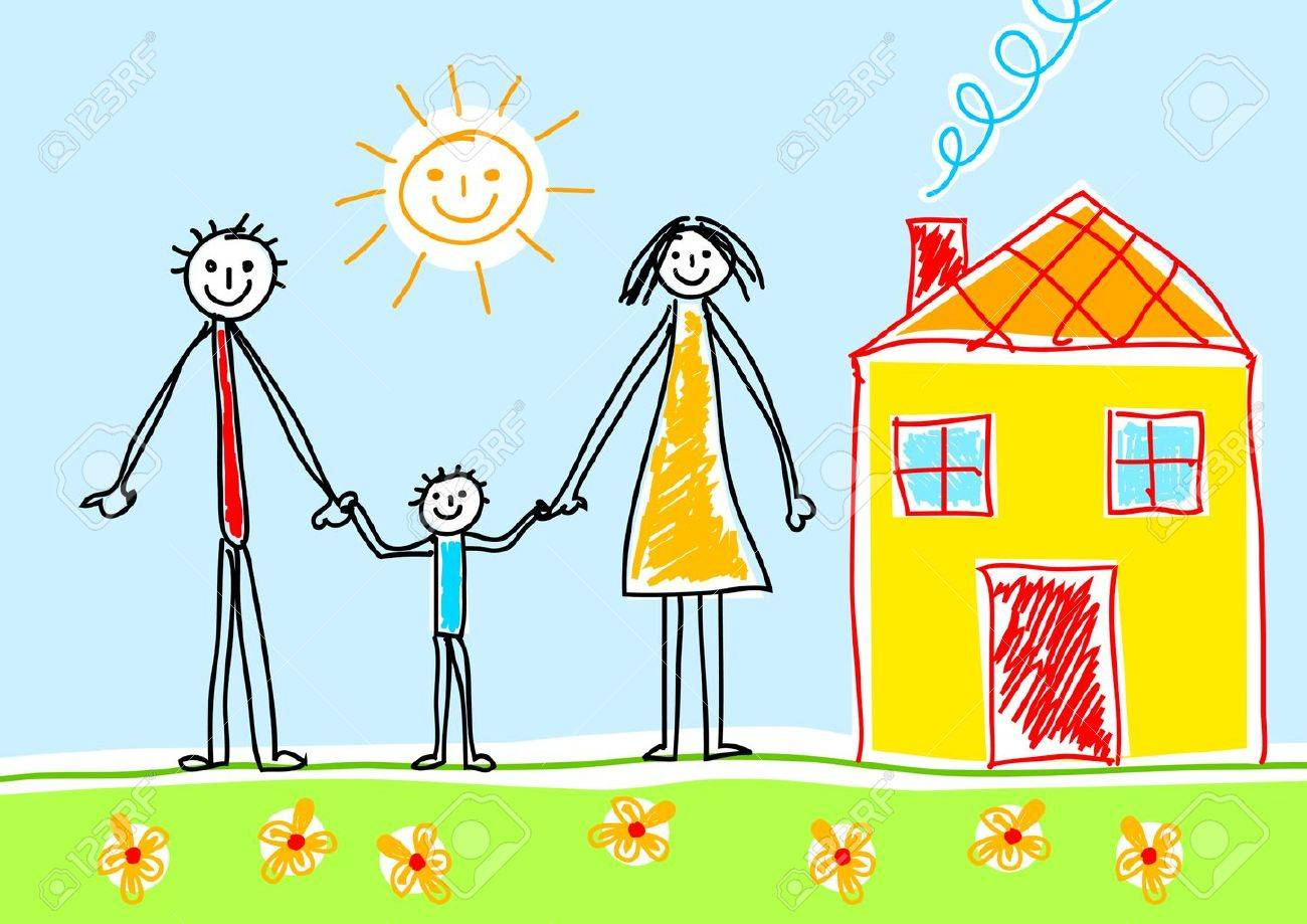 Drawing of family - 12220034