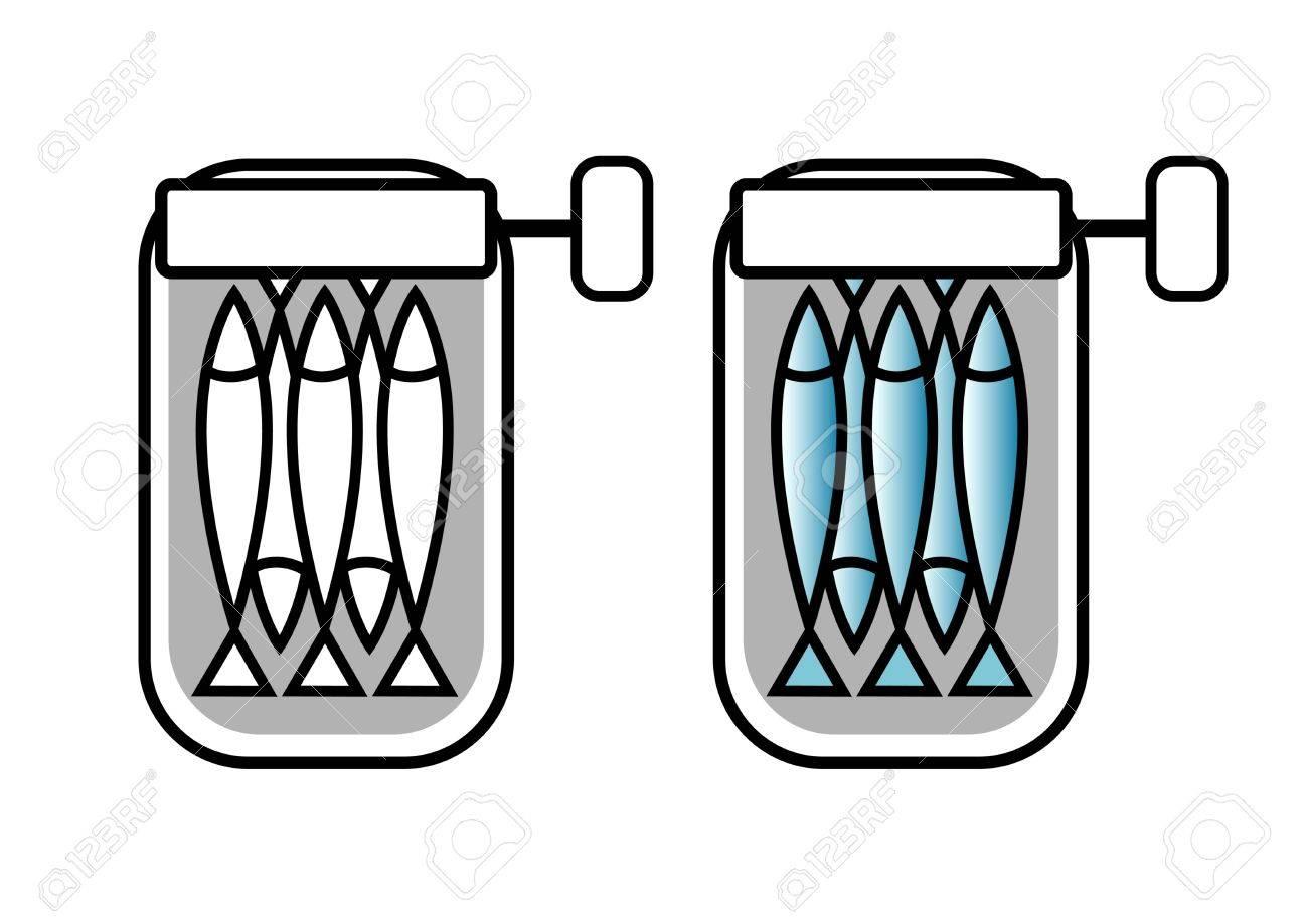 Sardines tin can - 12984348